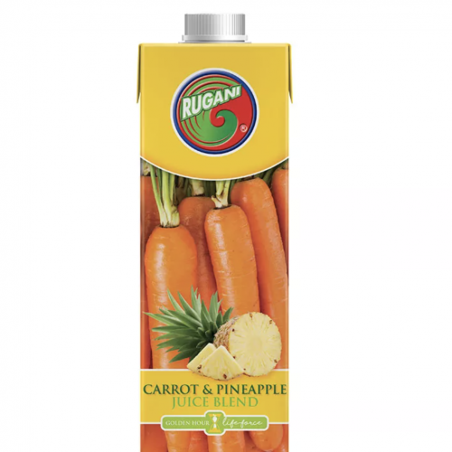 100% Carrot & Pineapple Juice 750ml