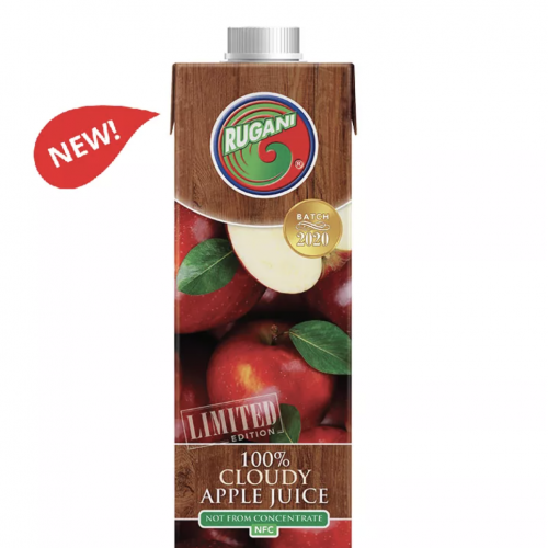 100% Cloudy Apple Juice 750ml