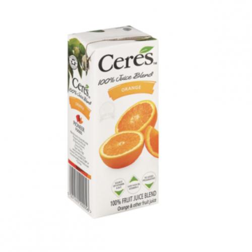Ceres 200ml (6 Pack) – Orange